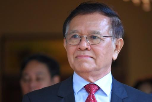 Cambodian opposition leader Kem Sokha has denied conspiring to overthrow the government