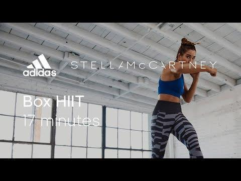 """<ul><li><strong>Equipment</strong>: None </li></ul><p>Love doing <a href=""""https://www.womenshealthmag.com/uk/fitness/workouts/a707801/hiit-workout-at-home/"""" rel=""""nofollow noopener"""" target=""""_blank"""" data-ylk=""""slk:HIIT workouts at home"""" class=""""link rapid-noclick-resp"""">HIIT workouts at home</a>? Love doing boxing workouts at home? This hybrid boxing-HIIT workout will probably be just your thing, then. You won't need any equipment for this session either, which makes it a <a href=""""https://www.womenshealthmag.com/uk/fitness/workouts/a707729/home-workouts/"""" rel=""""nofollow noopener"""" target=""""_blank"""" data-ylk=""""slk:home workout"""" class=""""link rapid-noclick-resp"""">home workout</a> win. </p><p><a href=""""https://www.youtube.com/watch?v=yVrcrOMWdMY&ab_channel=adidasWomen"""" rel=""""nofollow noopener"""" target=""""_blank"""" data-ylk=""""slk:See the original post on Youtube"""" class=""""link rapid-noclick-resp"""">See the original post on Youtube</a></p>"""