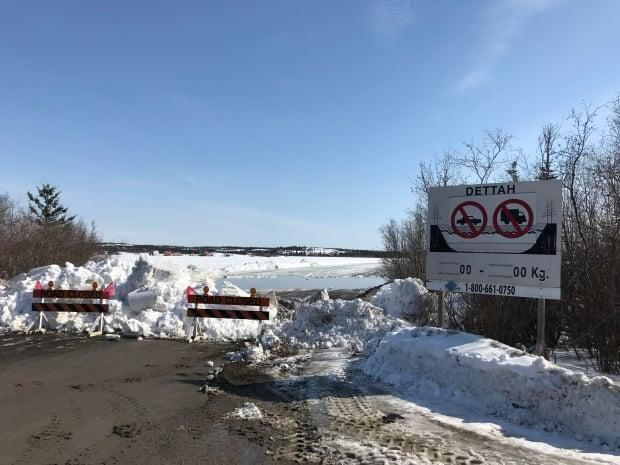 The Dettah Ice Road is closed for the season as of Friday. (Walter Strong/CBC - image credit)