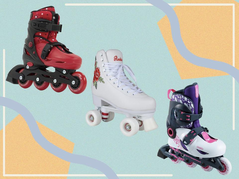<p>Choose from adjustable inlines, heelys, retro style lace ups and Velcro strap options </p> (The Independent)