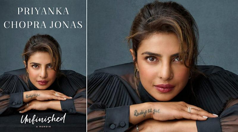 Priyanka Chopra Jonas Shares the Cover of Her Memoir 'Unfinished', Says She Wants Readers to Learn to Move On