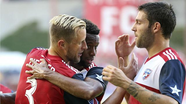 The in-form Hoops moved ahead of Sporting KC by a point in the west thanks to Saturday's 2-1 victory against Bob Bradley's side