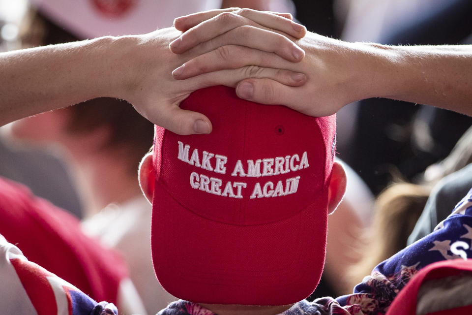 A law professor spoke out after a student wore a MAGA hat to class. (Photo: Drew Angerer/Getty Images)