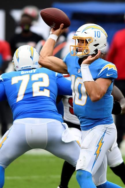 Blown leads, QB questions have Chargers' Lynn on defensive