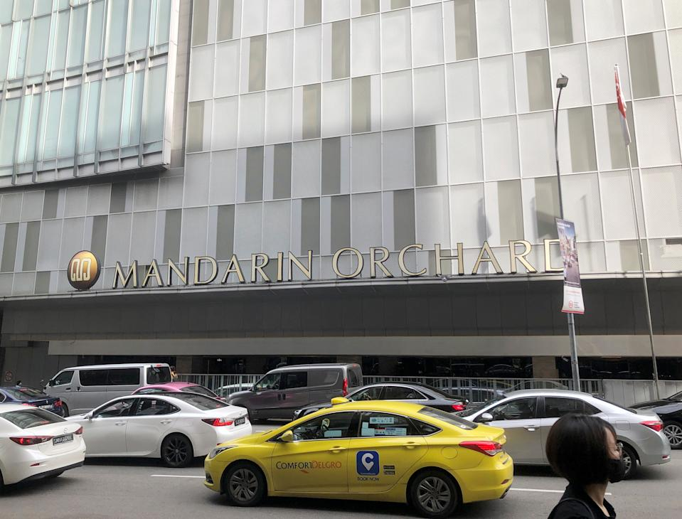 The Mandarin Orchard Singapore hotel has stopped accepting new guests as a precautionary measure. (PHOTO: Reuters)