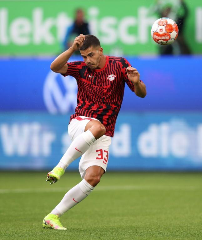Portugal forward Andre Silva ahd managed one goal in seven games for Leipzig (AFP/Ronny Hartmann)