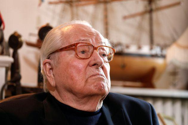 Jean-Marie Le Pen, founder of France's far-right National Front political party, reacts during an interview with Reuters in Montrerout, France, February 27, 2018.  Picture taken February 27, 2018.  REUTERS/Charles Platiau (Photo: Charles Platiau via Reuters)