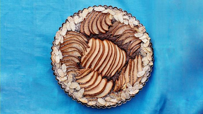 """""""One of my best friends recently moved to Alabama, and for months she would send me photos of stunning pastries from <a href=""""https://www.banditbham.com/"""" rel=""""nofollow noopener"""" target=""""_blank"""" data-ylk=""""slk:Bandit Patisserie"""" class=""""link rapid-noclick-resp"""">Bandit Patisserie</a> in Birmingham. The bakery was closed for my first two visits but the third time was a charm. I fell hard for the delicate pastries—like this incredible <a href=""""https://www.bonappetit.com/recipe/chocolate-almond-pear-tart?mbid=synd_yahoo_rss"""" rel=""""nofollow noopener"""" target=""""_blank"""" data-ylk=""""slk:pear and chocolate tart"""" class=""""link rapid-noclick-resp"""">pear and chocolate tart</a>. I want to come back every season to get the full range of fruit offerings (is it strawberry season yet?)."""" —<em>Sonia Chopra, executive editor</em> <a href=""""https://www.bonappetit.com/recipe/chocolate-almond-pear-tart?mbid=synd_yahoo_rss"""" rel=""""nofollow noopener"""" target=""""_blank"""" data-ylk=""""slk:See recipe."""" class=""""link rapid-noclick-resp"""">See recipe.</a>"""