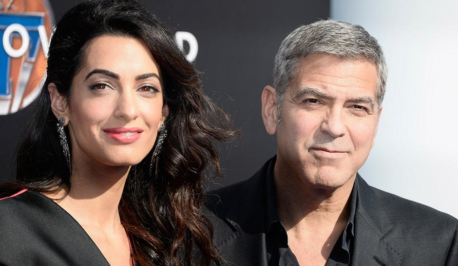 George Clooney And Amal Shopping In Paris For Twin Babies' Nursery