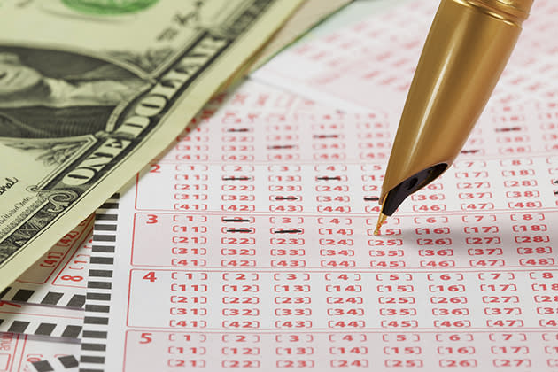 File photo of lottery ticket (Thinkstock)