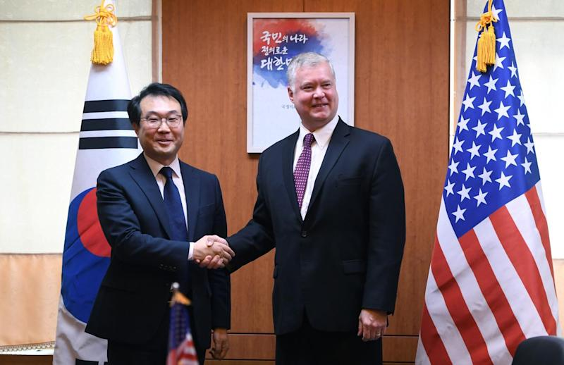 U.S. Representative in Pyongyang for Marathon Talks
