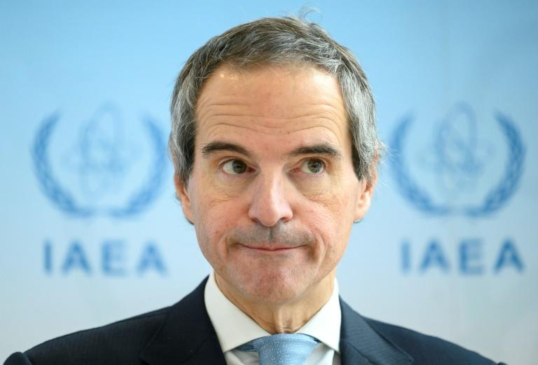 Grossi is the IAEA's first leader from Latin America (AFP Photo/JOE KLAMAR)