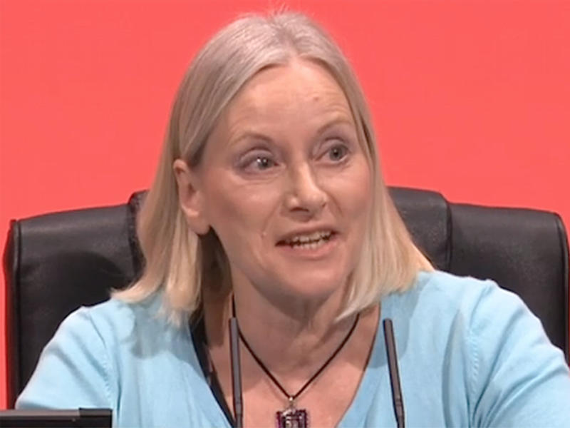 Shawcroft – a Labour member for 20 years – was suspended from the party in 2015: BBC