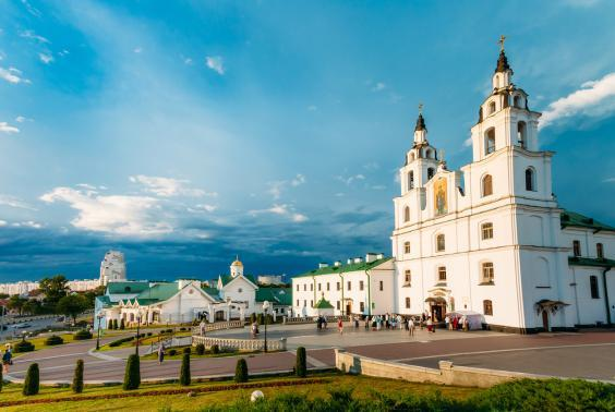 The Belarus capital has many beautiful churches (Getty/iStock)