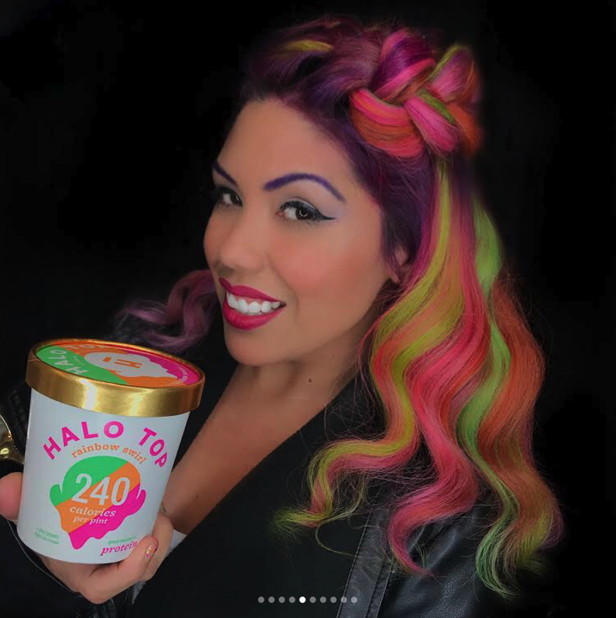 halo hair dye style halo top hair and more hair color trends 3018