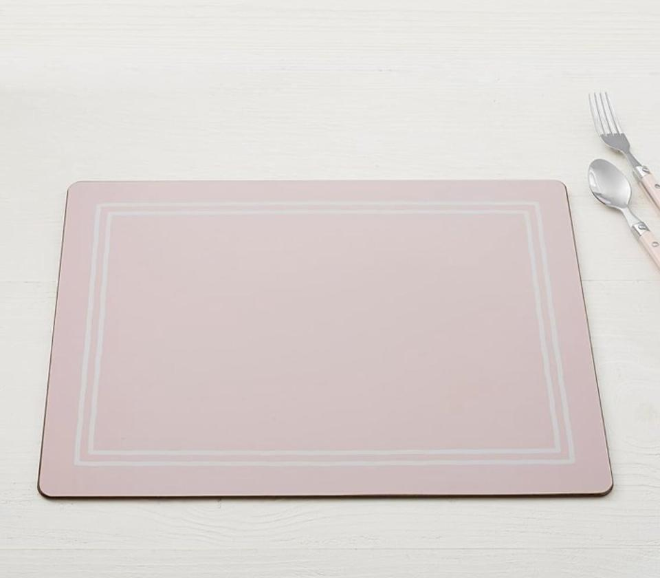 <p>This <span>Pottery Bank Kids Cambria Placemat</span> ($10) is so pretty to look at.</p>