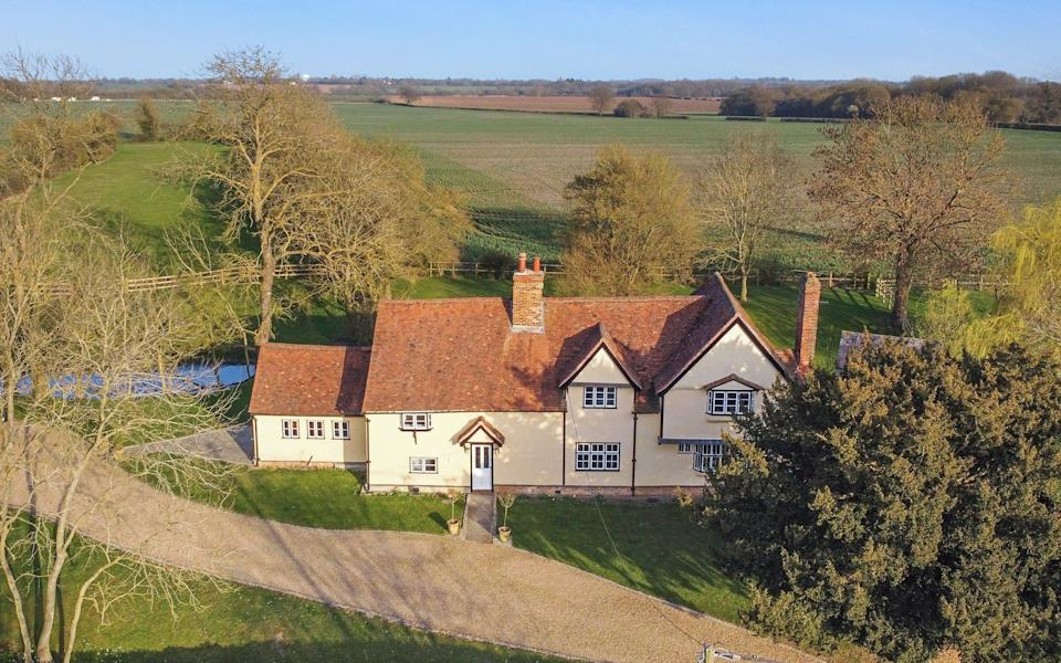 Porters Manor Farm is set in the rolling countryside, with a river nearby - Fenn Wright