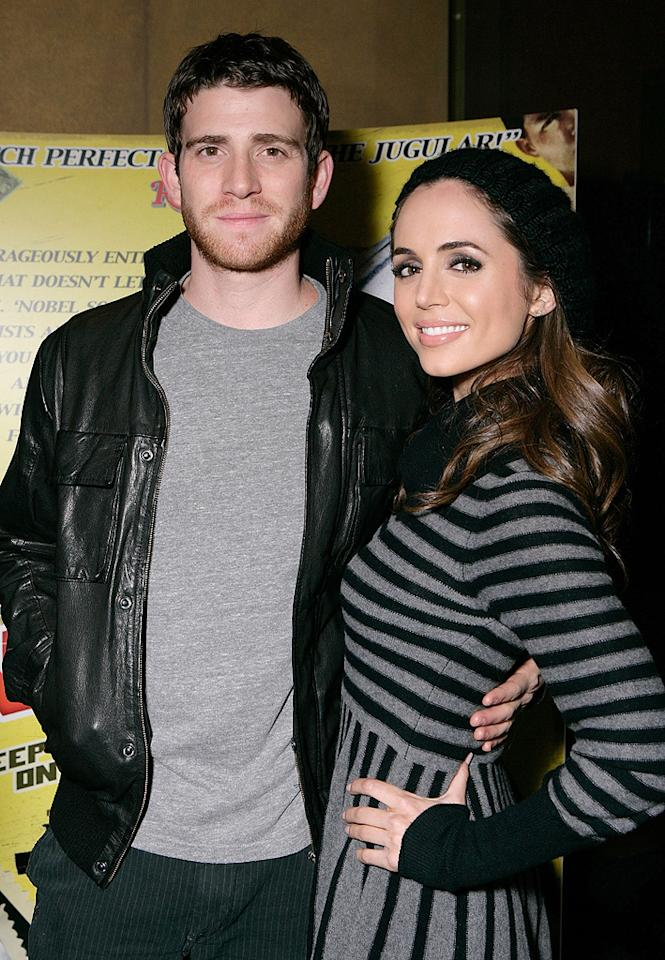 """<a href=""""http://movies.yahoo.com/movie/contributor/1800290259"""">Bryan Greenberg</a> and <a href=""""http://movies.yahoo.com/movie/contributor/1800184994"""">Eliza Dushku</a> at the Los Angeles premiere of <a href=""""http://movies.yahoo.com/movie/1809354225/info"""">Nobel Son</a> - 12/02/2008"""