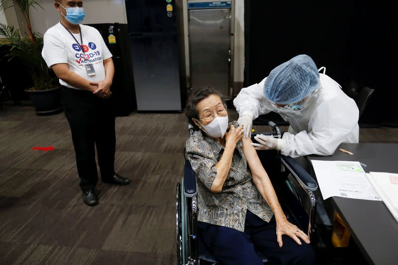 Mass COVID-19 vaccination rollout starts in Bangkok