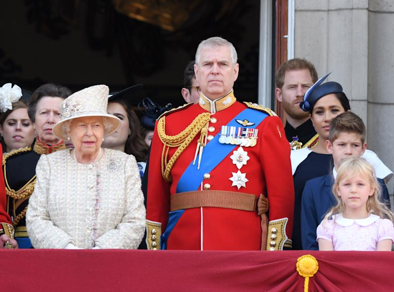 "Herzogin Meghan und Prinz Harry bei der Militärparade ""Trooping the Colour"" (Bild: Getty Images)"