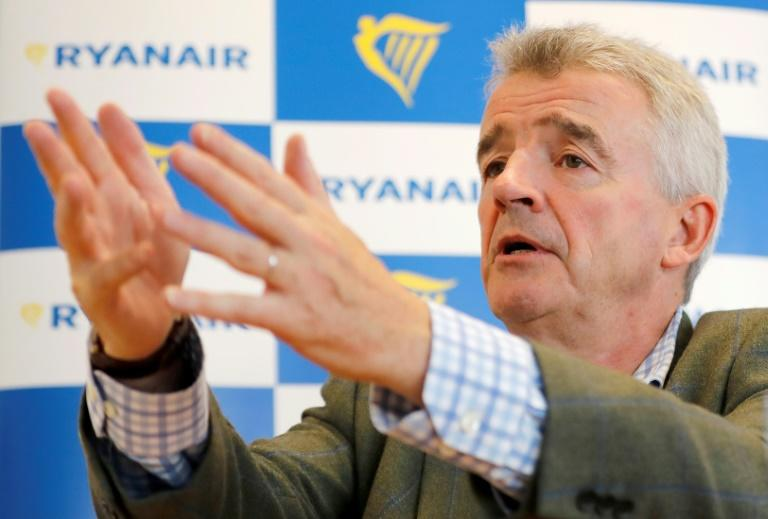 "Ryanair CEO Michael O'Leary downplayed the effects of Wednesday's strike and said the airline won't ""roll over"""