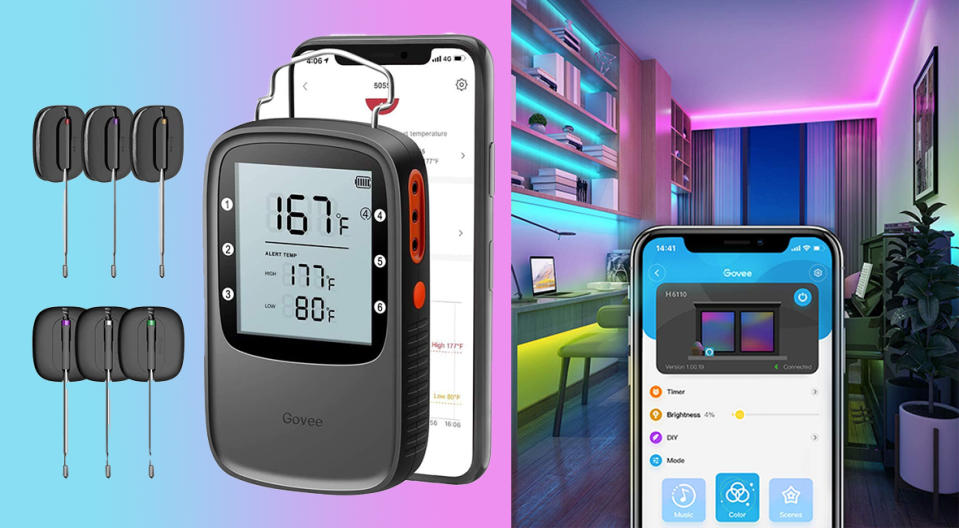 Govee smart home gadgets will color—and simplify—your world. (Photo: Amazon)
