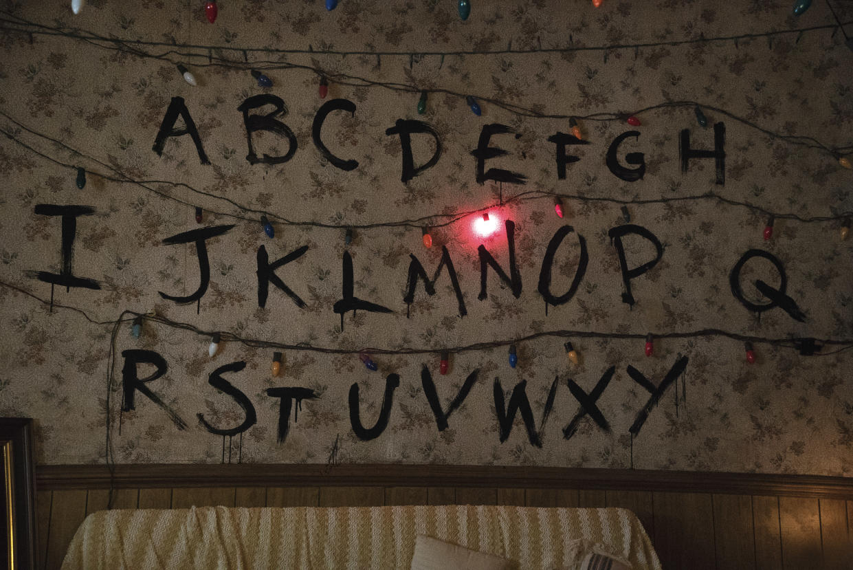 Stranger Things', 'Friends' And 'The Simpsons' Room