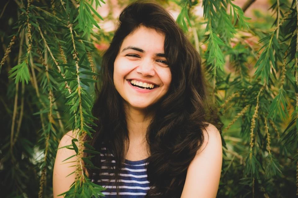 RJ Tripti  back to her normal life with an open smile