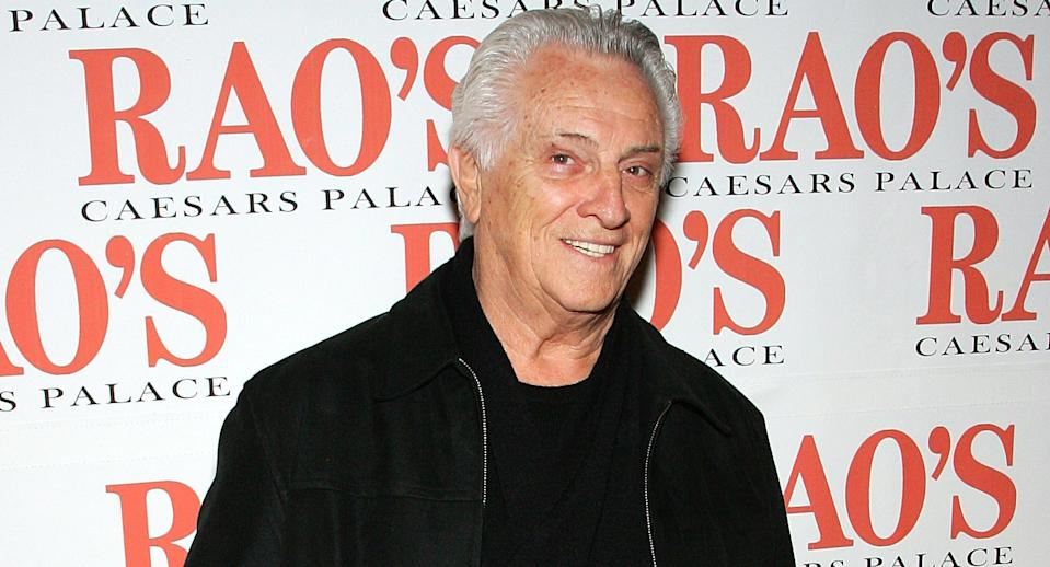 Tommy DeVito, original guitarist of the pop group The Four Seasons, has died at the age of 92. (Photo by Ethan Miller/Getty Images for Caesars)