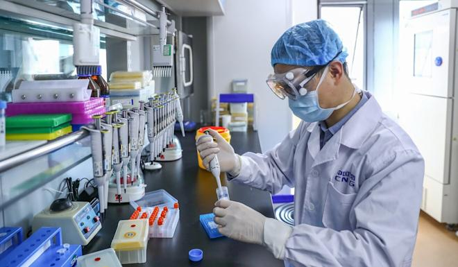Wu Guizhen says experts have been assessing how to get the vaccines into mass production. Photo: Xinhua