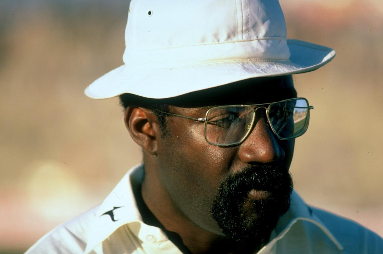 Dec 1980:  Portrait of West Indies Captain Clive Lloyd during the First Test match against Pakistan at the Gaddafi Stadium in Lahore, Pakistan. The match ended in a draw. \ Mandatory Credit: Adrian  Murrell/Allsport