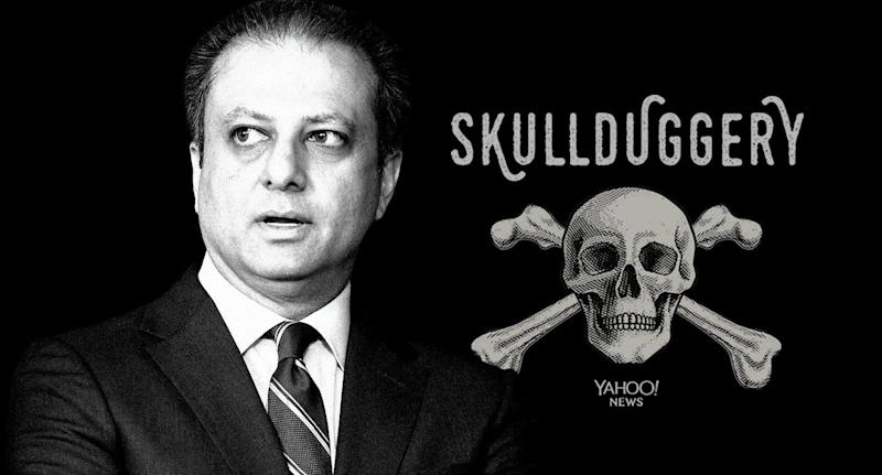 Preet Bharara. (Photo illustration: Yahoo News; photo: AP)