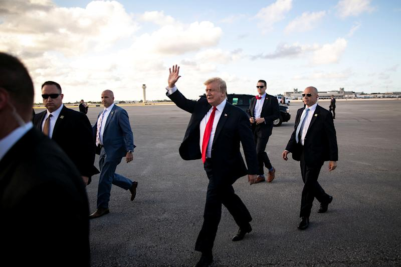 Trump's Company Charged Secret Service Hefty Rates for Stays: Report