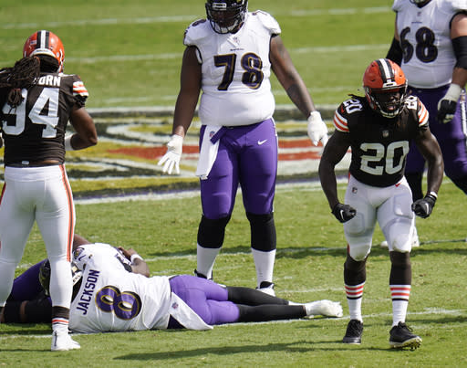 Ravens' Jackson can't expect many early exits under Harbaugh