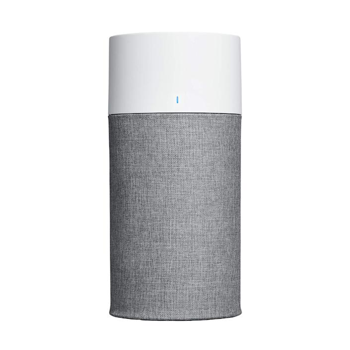 """<br><br><strong>Blueair</strong> Blue Pure 411 Auto Small Room Air Purifier, $, available at <a href=""""https://amzn.to/3x1vJFF"""" rel=""""nofollow noopener"""" target=""""_blank"""" data-ylk=""""slk:Amazon"""" class=""""link rapid-noclick-resp"""">Amazon</a>"""