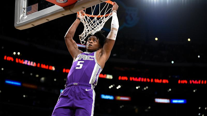 Kings fall to Jazz in high-scoring season opener