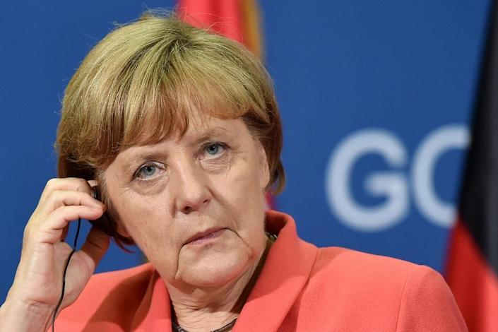 Europe's raging migrant crisis is set to hijack a summit in Vienna of leaders from the western Balkans region on Thursday that will also be attended by German Chancellor Angela Merkel (pictured) (AFP Photo/Andrej Isakovic)