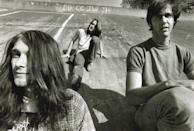 <p>Group portrait of Nirvana in Seattle, circa 1990 (Kurt Cobain, Chad Channing, and Krist Novoselic, left to right). Channing was the second drummer to join the band, before the group finally settled on Dave Grohl.</p>