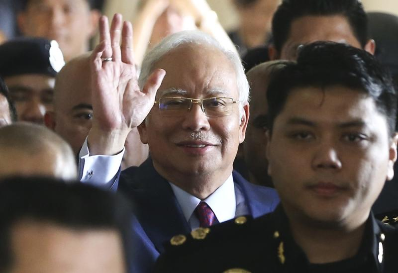 MACC also said it was still investigating the alleged transfer of RM2.6 billion into Najib's personal accounts. — Picture by Azneal Ishak