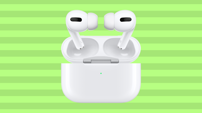 Customizable and noise-canceling: Apple AirPods Pro are what we call a good investment.  (Photo: Amazon)