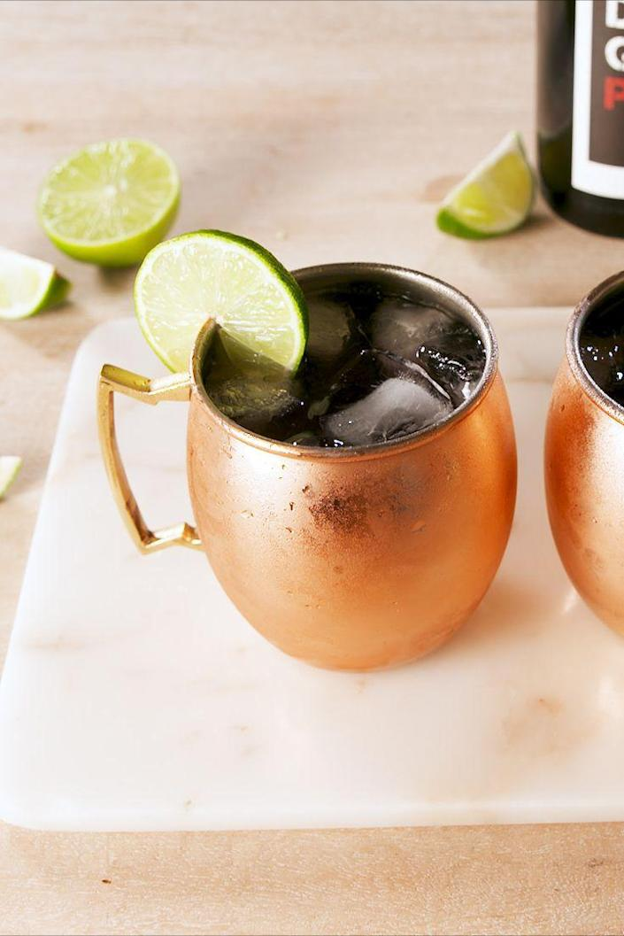 "<p>Wine lovers, this Moscow mule has your name all over it.<br></p><p>Get the recipe from <a href=""https://www.delish.com/cooking/recipe-ideas/a19634283/red-wine-mules-recipe/"" rel=""nofollow noopener"" target=""_blank"" data-ylk=""slk:Delish"" class=""link rapid-noclick-resp"">Delish</a>. </p>"
