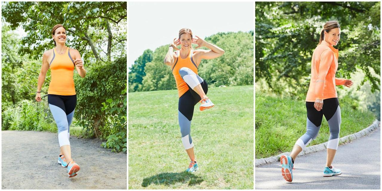 "<p>Take advantage of the fall weather with three routines that trim, tone, and blast calories from Jenna Wolfe, author of <em><a rel=""nofollow"" href=""https://www.amazon.com/Thinner-30-Small-Changes-Weight/dp/145553398X"">Thinner In 30</a></em>.</p>"