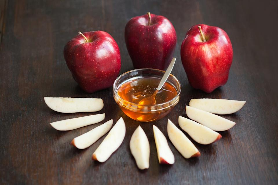 Apple and honeyGetty Images/iStockphoto