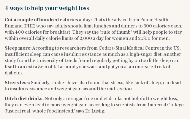 4 ways to help your weight loss