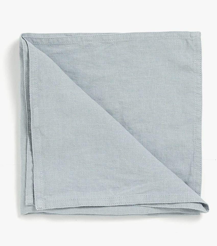 Elevate your everyday meals with easy to care for pre-washed linen napkins.