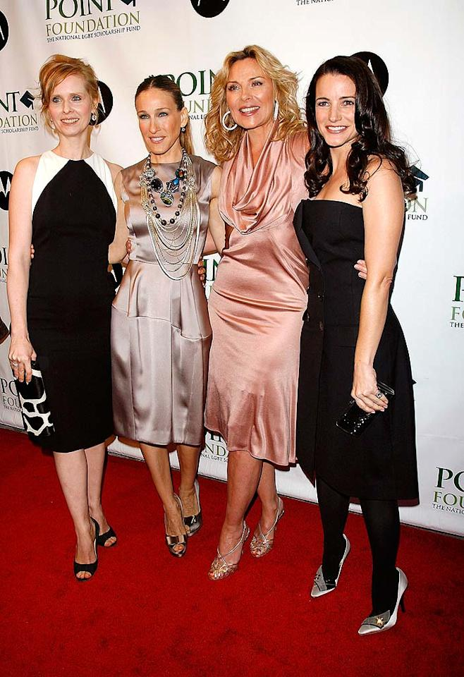 "5. ""Sex and the City."" The Big Apple's fab four brought sexy back this summer as the big screen installment of ""SATC"" raked in over $400 million despite its R-rating. With the highest-grossing romantic comedy in recent history under her belt, SJP and her 40-plus posse will undoubtedly be battling another crop of boyish blockbusters in 2010 with a sassy sequel. Jim Spellman/<a href=""http://www.wireimage.com"" target=""new"">WireImage.com</a> - April 7, 2008"