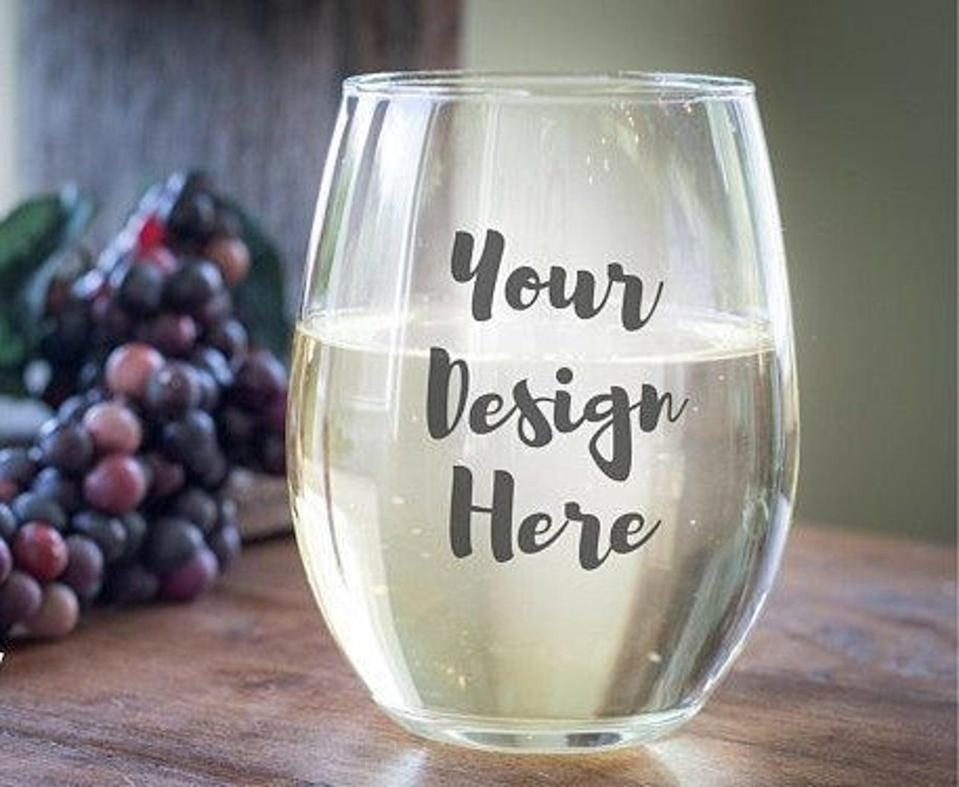 "<br> <br> <strong>GlitzNGlamByWendy</strong> Customizable Stemless Wine Glass, $, available at <a href=""https://go.skimresources.com/?id=30283X879131&url=https%3A%2F%2Fwww.etsy.com%2Flisting%2F786279281%2Fcustomizable-stemless-wine-glass"" rel=""nofollow noopener"" target=""_blank"" data-ylk=""slk:Etsy"" class=""link rapid-noclick-resp"">Etsy</a>"