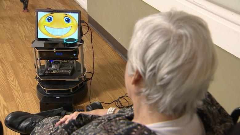 Aether the robot a welcome addition to B.C. group home