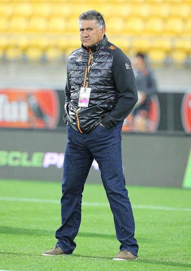 Sunwolves head coach Jamie Joseph will turn his attentions to Japan's national team after Saturday's Super Rugby game in Hong Kong. (AFP Photo/Grant DOWN)