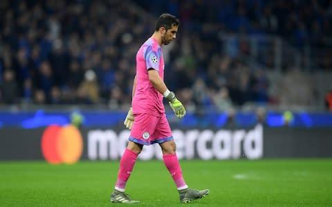 <span>Claudio Bravo was sent off against Atalanta in the Champions League on Wednesday</span> <span>Credit: REUTERS </span>